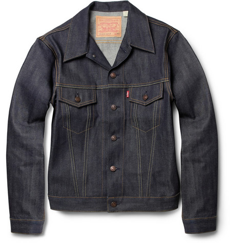 Levi's Vintage Clothing 1967 Type 111 Trucker Dry-Denim Jacket