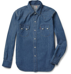 Levi's Vintage Clothing 1955 Sawtooth Washed-Denim Shirt