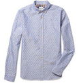 Paul Smith Polka-Dot Cotton Oxford Shirt