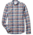 Paul Smith Check Cotton Oxford Shirt
