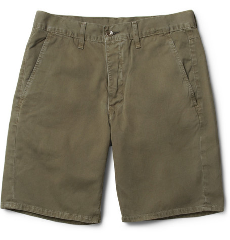 Rag & bone Slim-Fit Cotton-Twill Shorts