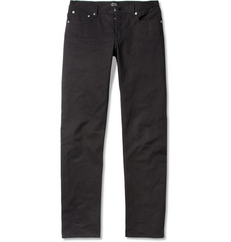 A.P.C. Petit Standard Slim-Fit Overdyed Denim Jeans