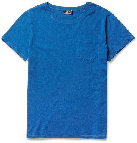 A.P.C. Pocket-Front Cotton T-Shirt