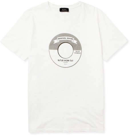 A.P.C. Printed Cotton T-Shirt
