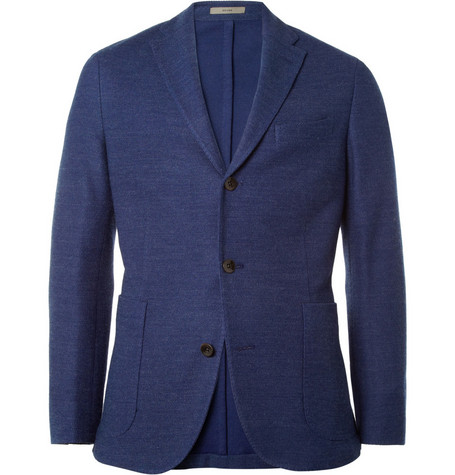 Boglioli Dover Cotton-Blend Honeycomb Blazer