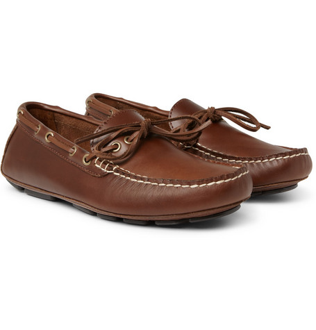 J.Crew Thompson Leather Driving Shoes