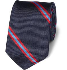 J.Crew Slim Blake Striped Silk Tie