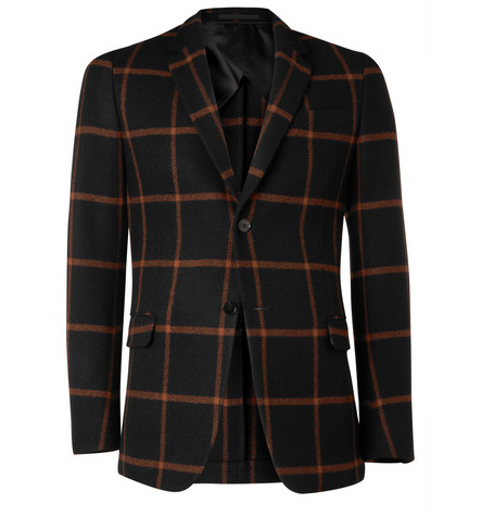Gucci Slim-Fit Wool and Cashmere-Blend Blazer
