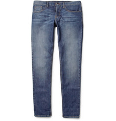 Gucci Washed-Denim Straight-Leg Jeans