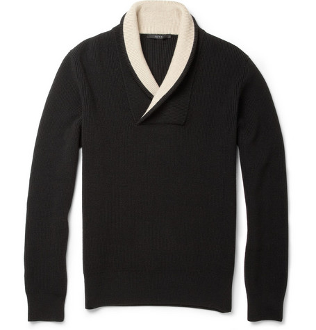 Gucci Shawl-Collar Wool Sweater