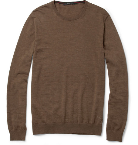 Gucci Crew Neck Wool Sweater