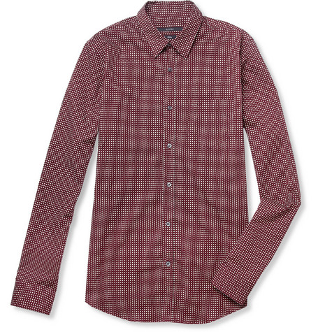 Gucci Slim-Fit Printed Cotton-Blend Shirt