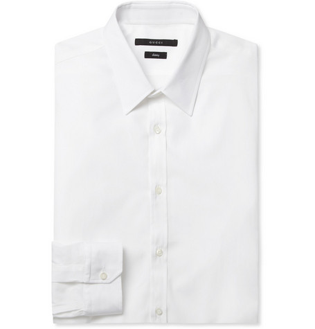 Gucci Slim-Fit Cotton Shirt