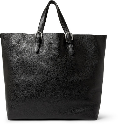 Gucci Full Grain Leather Tote Bag