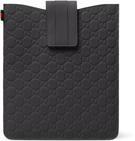 Gucci Rubberized Leather iPad Sleeve