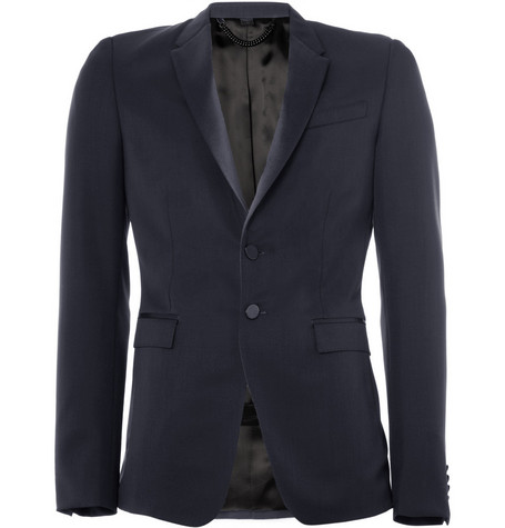 Burberry Prorsum Slim-Fit Wool Tuxedo Jacket