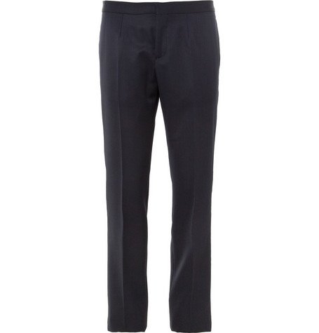 Burberry Prorsum Slim-Fit Wool Tuxedo Trousers