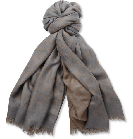 Gucci Lightweight Wool Scarf