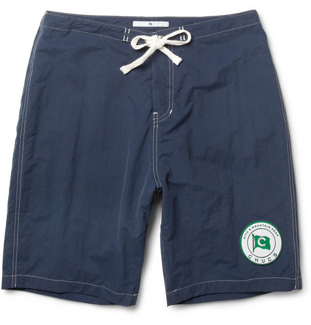 Chucs Long-Length Swim Shorts