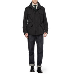Loro Piana Traveller Storm System Lightweight Cashmere-Lined Jacket