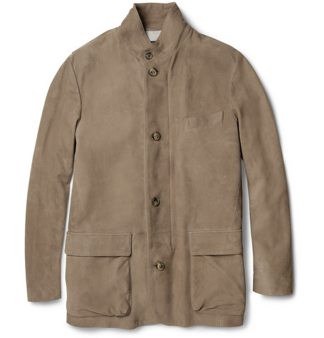Loro Piana Roadster Suede Jacket