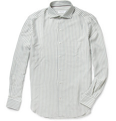 Loro Piana Striped Silk Shirt