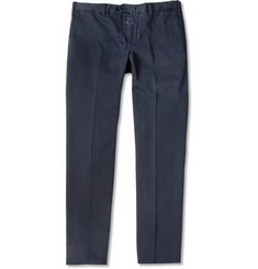 Loro Piana Slim-Fit Brushed Cotton-Blend Trousers