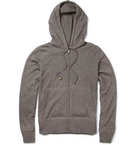 Loro Piana Cashmere and Silk-Blend Hooded Top