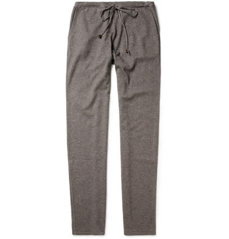 Loro Piana Cashmere and Silk-Blend Tracksuit Pants