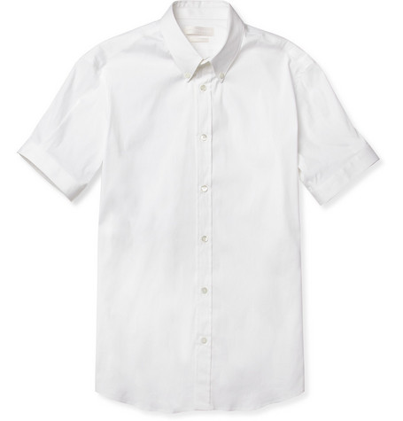 Alexander McQueen Slim-Fit Stretch Cotton-Blend Shirt