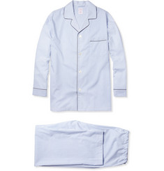 Brooks Brothers Striped Cotton Pyjama Set