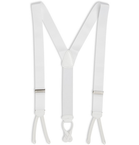 Brooks Brothers Elasticated Woven Braces