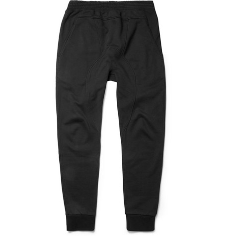 Neil Barrett Panelled Cotton-Jersey Sweatpants