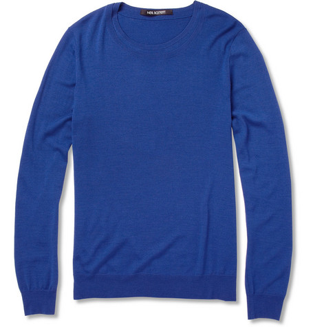Neil Barrett Fine-Knit Wool Sweater