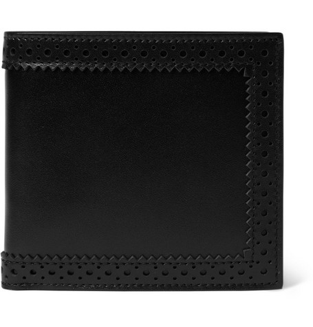 Alexander McQueen Leather Billfold Wallet