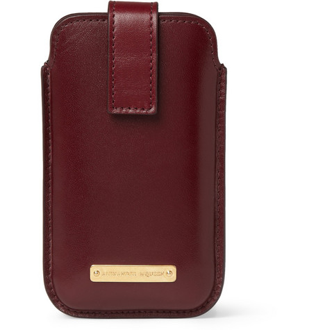 Alexander McQueen Leather iPhone 4 Case