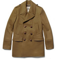 Burberry London - Slim-Fit Wool-Blend Peacoat