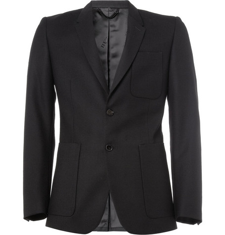 Burberry London Slim-Fit Wool Blazer