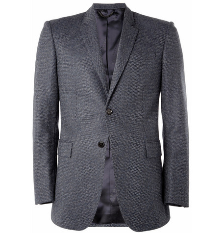 Burberry London Slim-Fit Woven-Wool Blazer