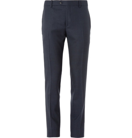 Burberry London Slim-Fit Merino Wool-Twill Trousers