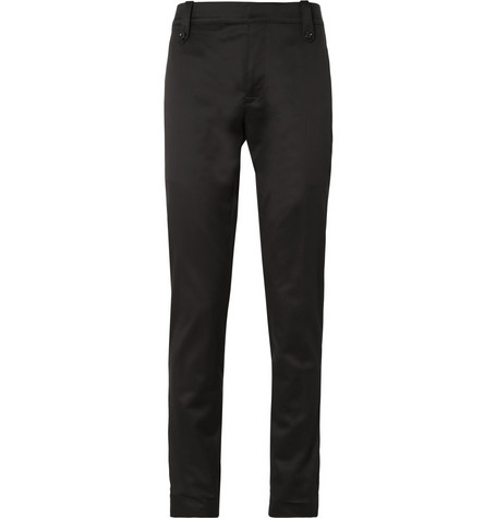 Burberry London Slim-Fit Cotton-Blend Trousers