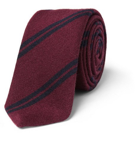Burberry London Wool and Silk-Blend Tie