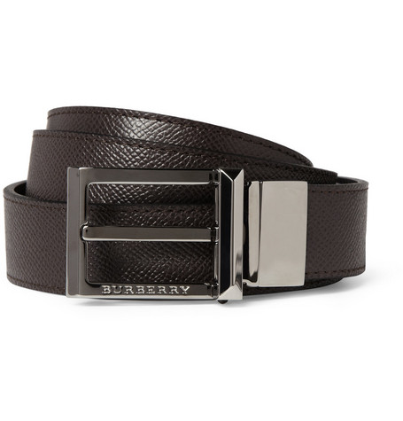Burberry Shoes & Accessories Reversible Leather Belt