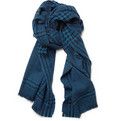Burberry Shoes & Accessories Prince of Wales Check Wool and Cashmere-Blend Scarf
