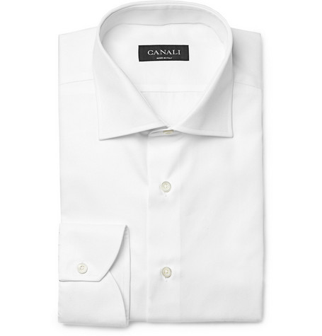 Canali Cotton-Twill Shirt