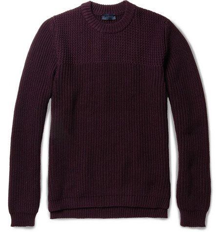 Lanvin Chunky-Knit Merino Wool Sweater
