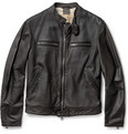 Burberry Brit - Leather Biker Jacket