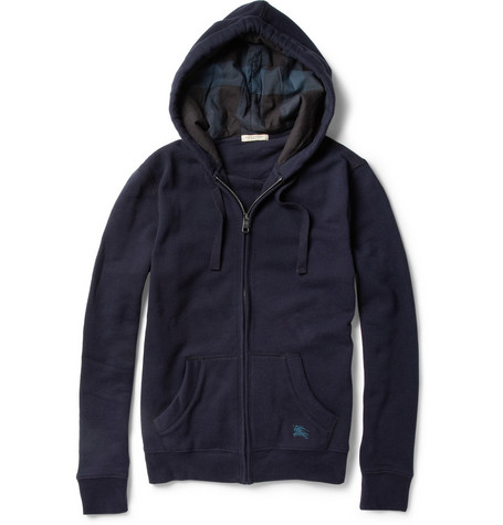 Burberry Brit Cotton-Blend Hooded Sweater