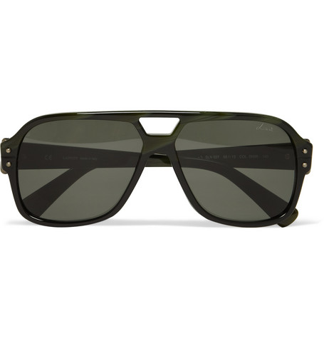 Lanvin Aviator Acetate Sunglasses