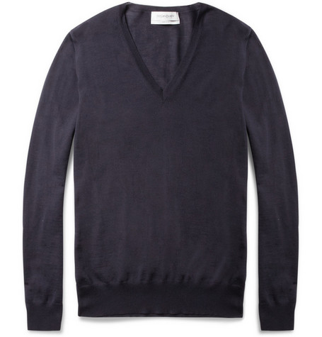 Yves Saint Laurent Wool V-Neck Sweater